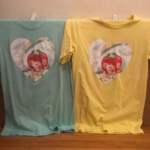 "Tops - NEW-Womens, Strawberry Shortcake, ""Vintage"" Shirts"